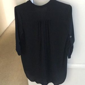 Lush Tops - Lush Perfect Roll Tab Sleeve Tunic
